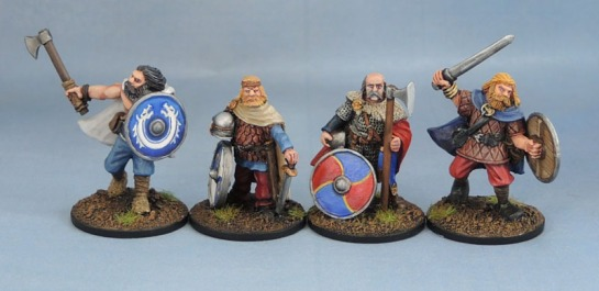 Wargames Foundry Vikings, 28mm Viking Miniatures, SAGA