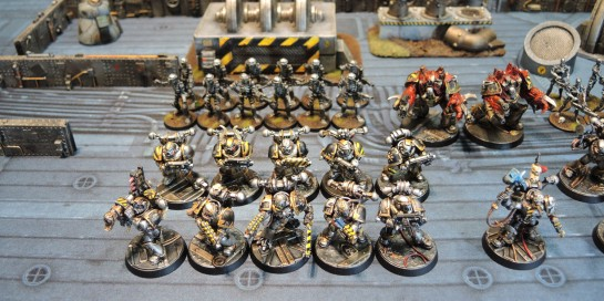 Iron Warriors Chaos Space Marine Tactical Squad