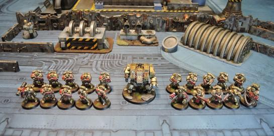 Minotaurs Space Marines, Minotaurs Space Marine Dreadnought