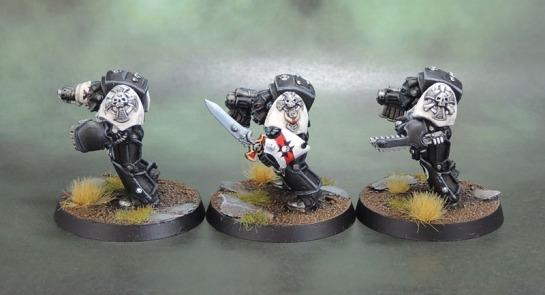 Black Templars Terminators, Oldhammer, Rogue Trader, RTB09