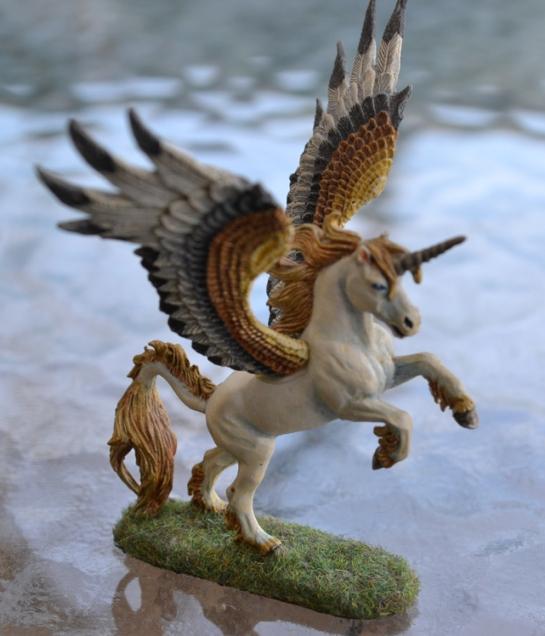 Grenadier Miniatures Mirilton Winged Unicorn Aethiopian Pegasi