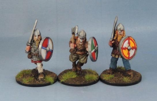 Wargames Foundry Vikings, Michael and Alan Perry Vikings, Citadel F8 Vikings