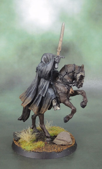Citadel Miniatures Mounted Witch King of Angmar, Nazgul, Nazgûl