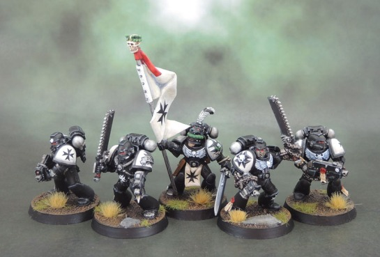 Black Templars Space Marines Crusaders