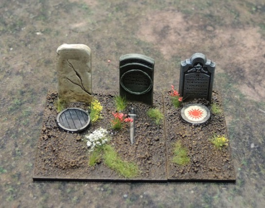 Renedra Gravestones, Graveyard Scenery, Cemetary