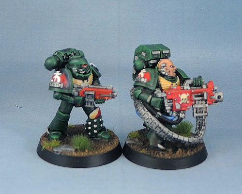 Dark Angels Tactical Squad, Warhammer 40k