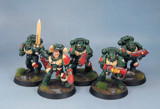 Dark Angels Tactical Squad, Warhammer 40k 2nd Edition