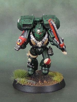 Dark Angels Space Marine Assault Squad