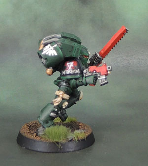 Dark Angels Space Marine Assault Squad