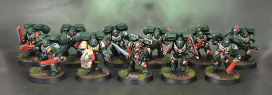 Dark Angels Librarian, Rogue Trader, Warhammer 40k, Assault Squad