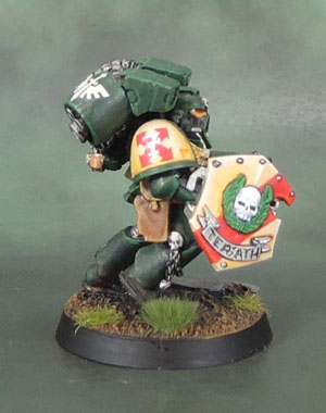 Dark Angels Space Marine Assault Squad Sergeant, 3rd Edition Death Company