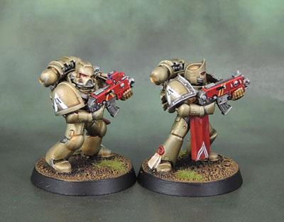 Minotaurs Space Marines - IX Squad