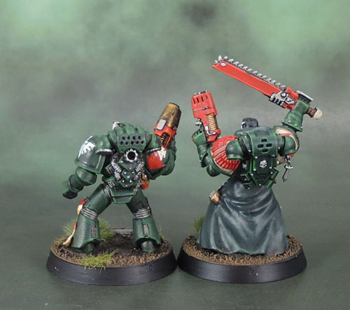 Dark Angels Space Marine Tactical Squad