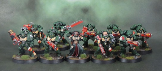 Dark Angels Space Marine Tactical Squad