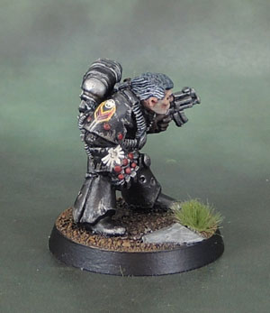 "RT101 ""Brother Napier"", Fallen Dark Angel - 40k Rogue Trader (1988)"