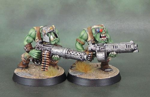 Warhammer 40k Ork Big Shoota Boyz