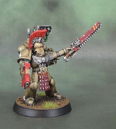 Minotaurs Space Marine Devastator Sergeant
