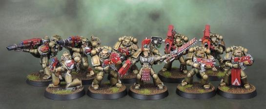 Minotaurs Space Marine Devastator Squad