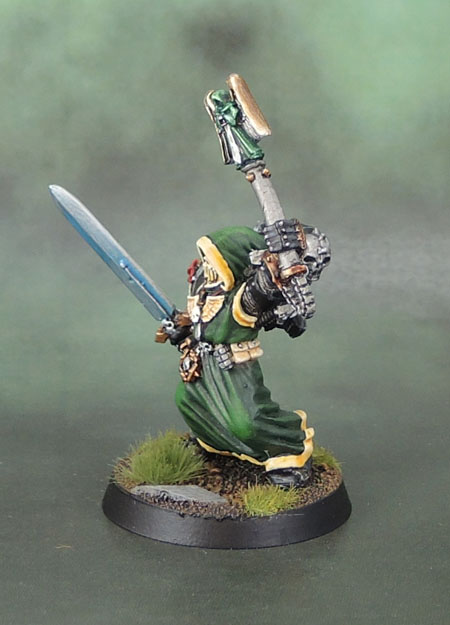 Dark Angels Asmodai, Interrogator-Chaplain (2nd Edition), Jes Goodwin