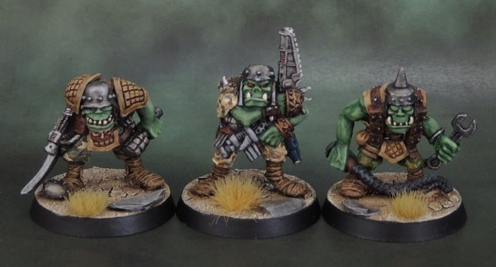 RTB02 Space Ork Raiders Discipline-Master (1988), Ork Mek, Mekaniak, Rogue Trader Orks, Kev Adams