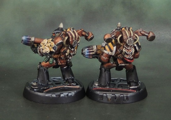 Iron Warrior Plague Marine Plasma Gunners (1995)