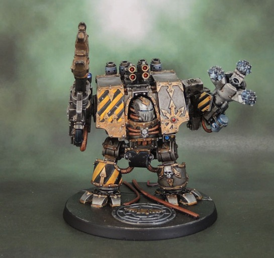 Iron Warriors Hellbrute, Forge World, Ferrum Infernus Chaos Dreadnought, Chaos Space Marine Dreadnought, Traitor Legion