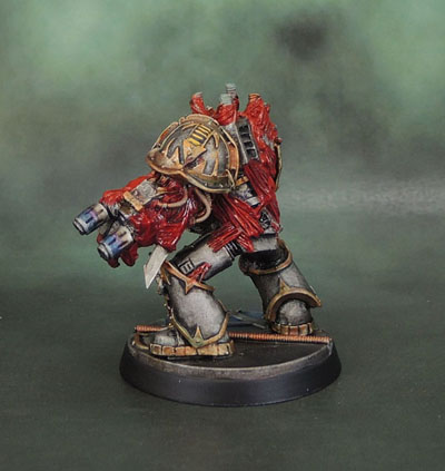 Iron Warriors Chaos Space Marine Obliterator