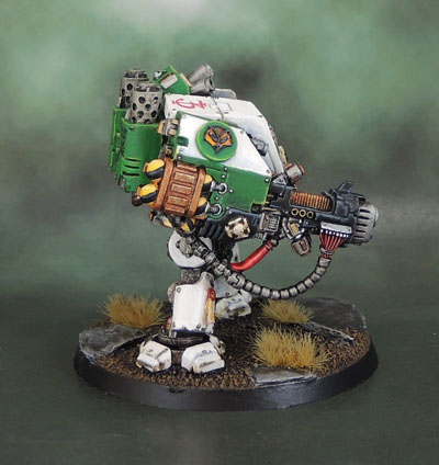 Mentor Legion Space Marine Castraferrum Dreadnought, Mentors, Rogue Trader, 40k 2nd Edition Dread