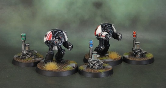 40k Teleport Homers, Black Templar Terminators
