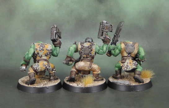 Warhammer 40k Ork Slugga Boyz