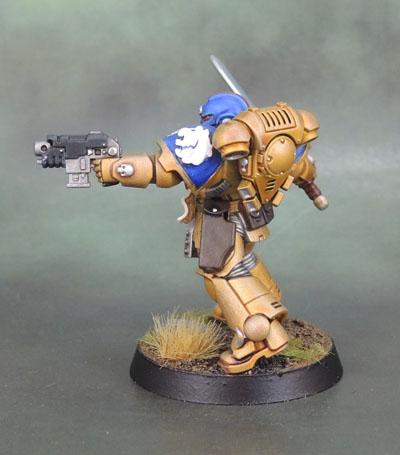 Celestial Lions Primaris Lieutenant Space Marines