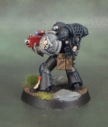 Deathwatch Space Marine