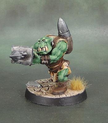 Ork Rokkit Launcher Boy