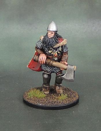 Wargames Foundry VIK056 - Svavas Warrior Heroes Stealthy Elbegast