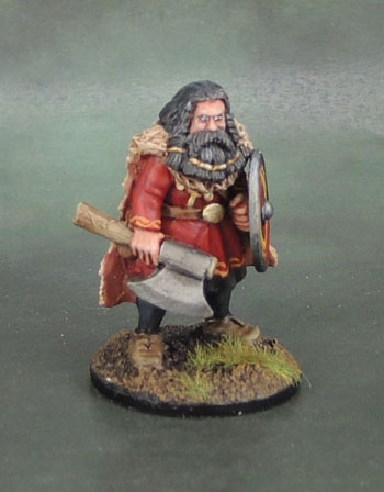Wargames Foundry VIK056 - Svavas Warrior Heroes Big Bragi