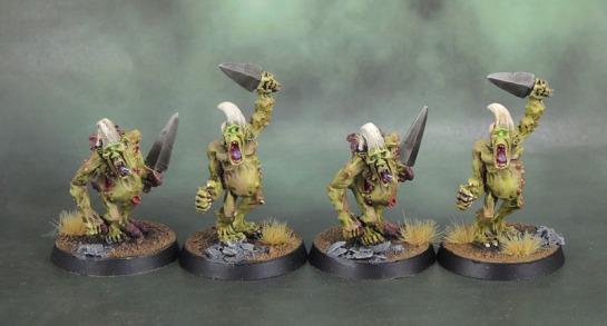 3rd Wave Warhammer Plaguebearers of Nurgle 2001