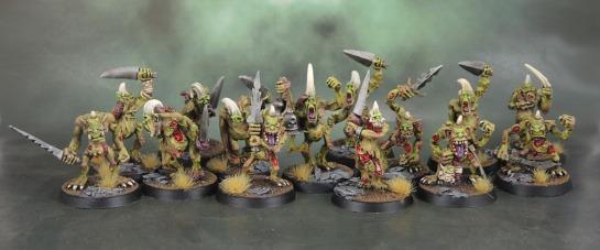 Oldhammer Warhammer Plaguebearers of Nurgle