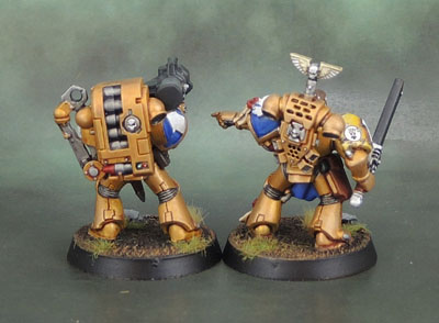 Assault on Black Reach Space Marines, Celestial Lions