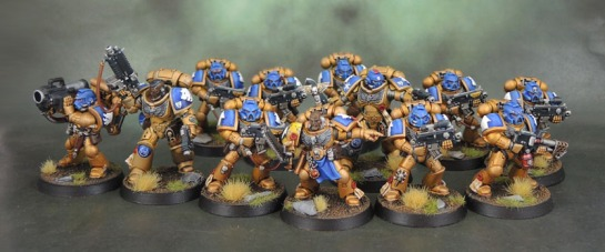 Assault on Black Reach Space Marines, Primaris Lieutenants, Celestial Lions