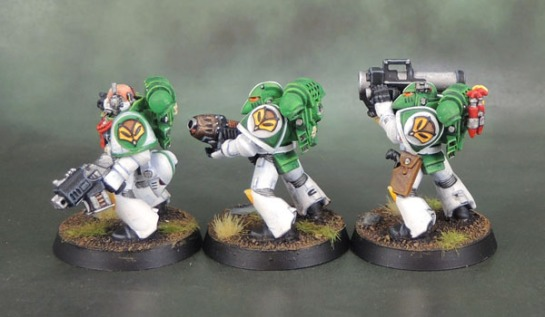 Mentor Legion Tactical Space Marines Mentors