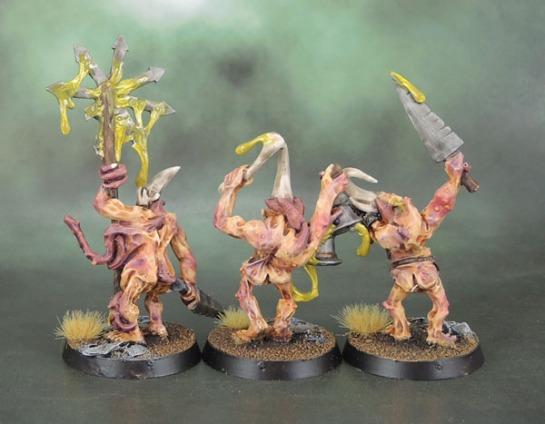 3.5 Wave Warhammer Plaguebearers of Nurgle Command 2007