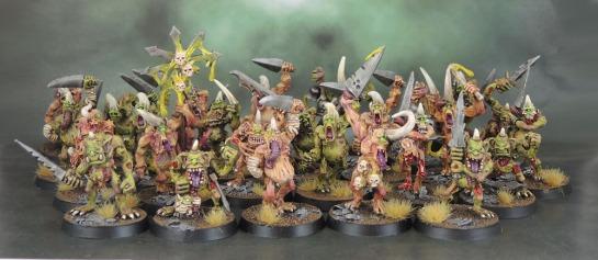 Oldhammer Metal Plaguebearers of Nurgle