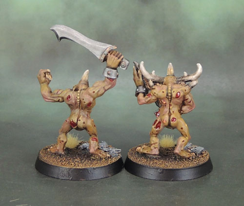 2nd Wave Warhammer Plaguebearers of Nurgle 1996, Aly Morrison/Colin Dixon