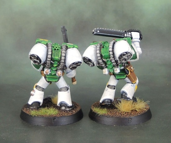 Mentor Legion Assault Marines, Mentors, 2nd Edition Metal Space Marines
