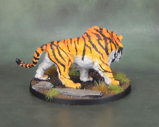 Monolith Games Conan board game Kickstarter Sabretooth Tiger