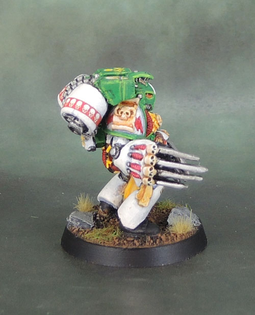 Mentor Legion Space Marine Assault Librarian