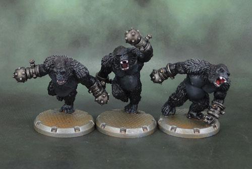 DUST Tactics: Axis Gorilla Kampfaffen