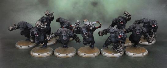DUST Tactics: Axis Gorilla Kampfaffen, Marcus