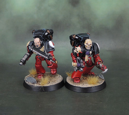 Flesh Tearers Space Marines Assault Squad