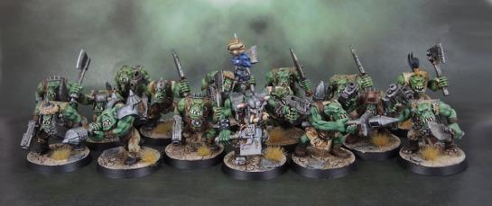 Space Ork Boyz Mob